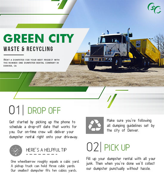 Get a Dumpster Rental in Denver with Green City